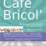affiche de la manifestation du café Bricol