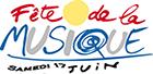 le logo de la fête de la musique