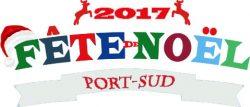 Logo de la fète de noel 2017 de Port-Sud Ramonville