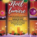 Affiche de la fête de Noël 2017 à Port-Sud Ramonville